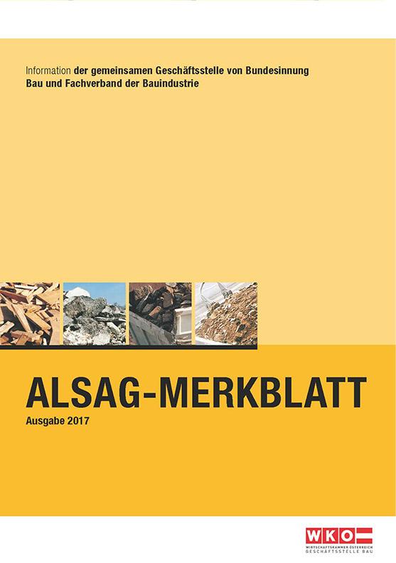 ALSAG Merkblatt 2017 und Flowchart