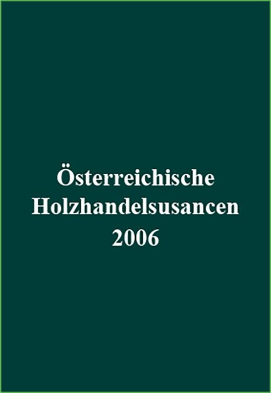Österreichische Holzhandelsusancen 2006