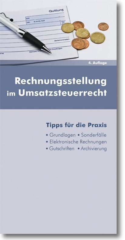 Rechnungsstellung im Umsatzsteuerrecht, 5. Auflage