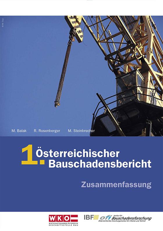 1. Österreichischer Bauschadensbericht